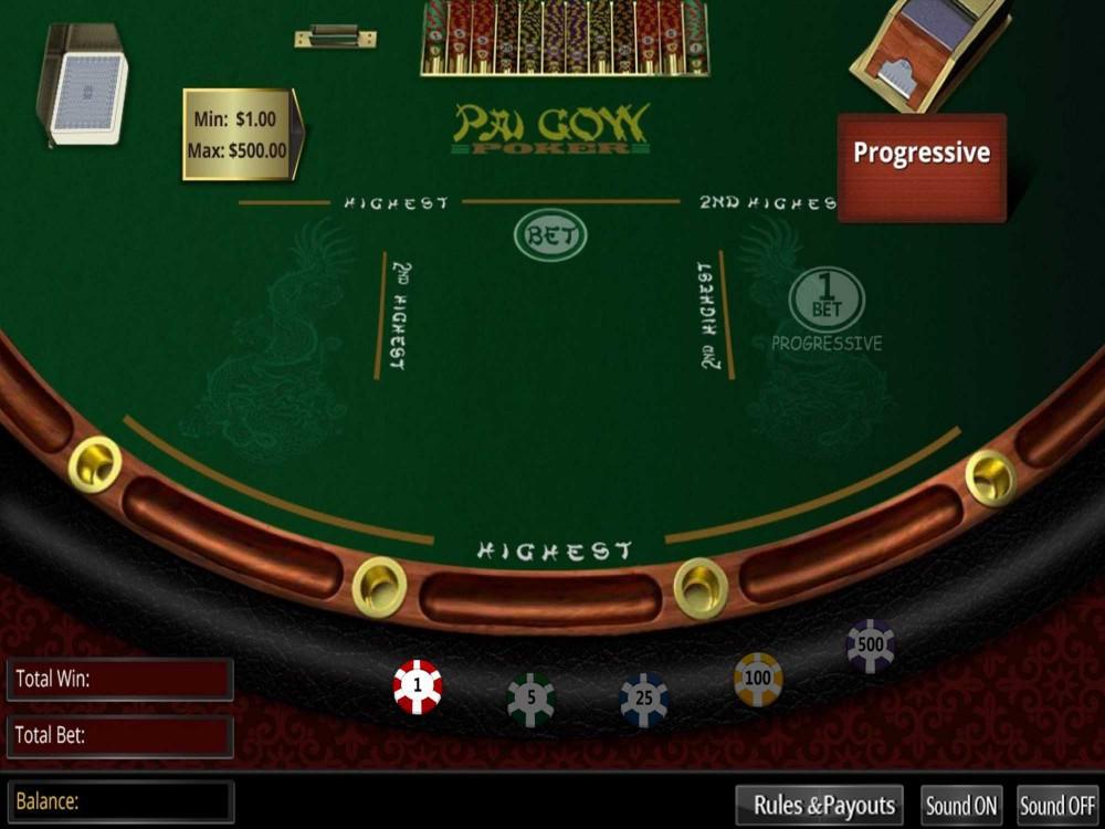 Arrow's Edge Pai Gow Poker screenshot