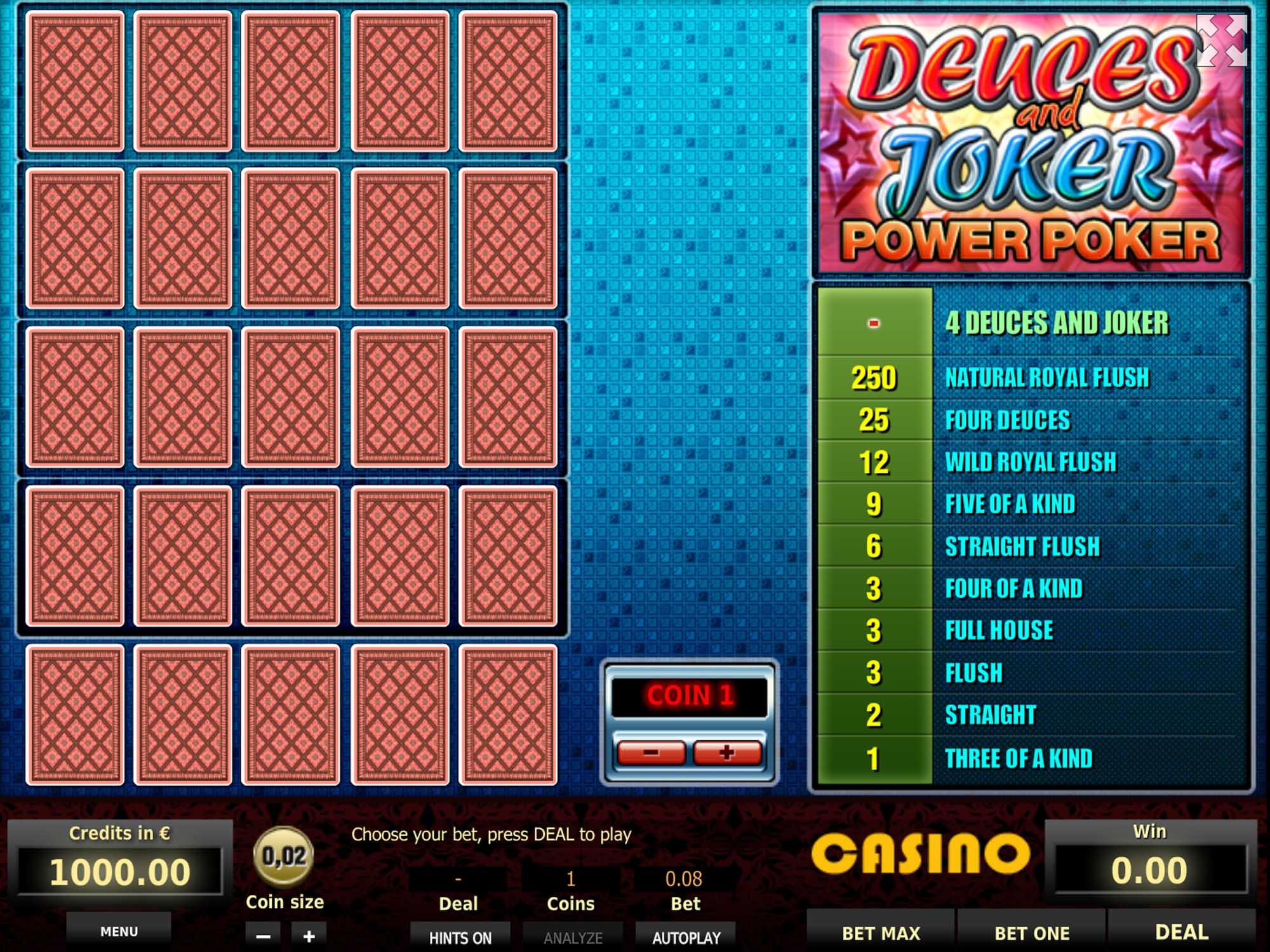 4 Deuces Poker