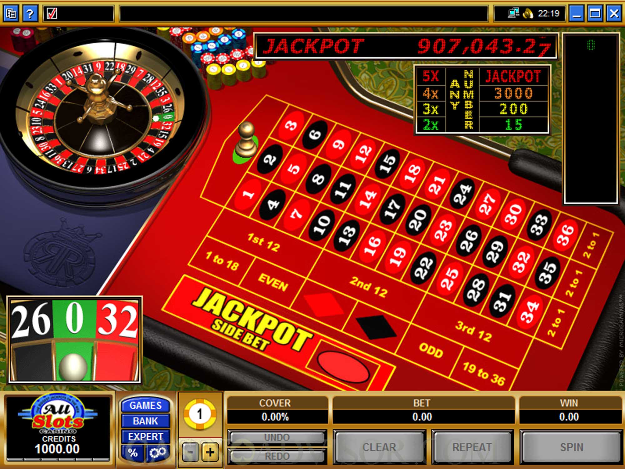 Microgaming Roulette Royale screenshot