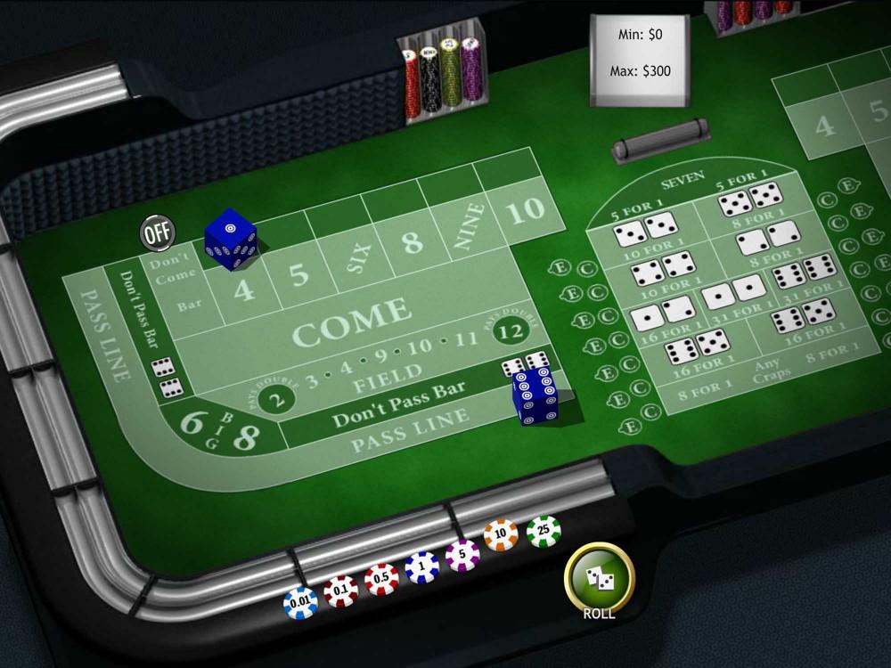 Playtech Craps screenshot