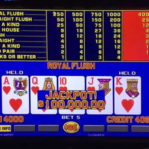 High Stakes Video Poker