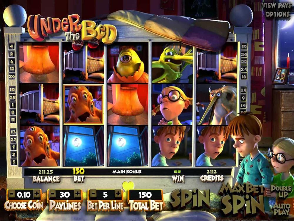 Under the Bed Slot screenshot