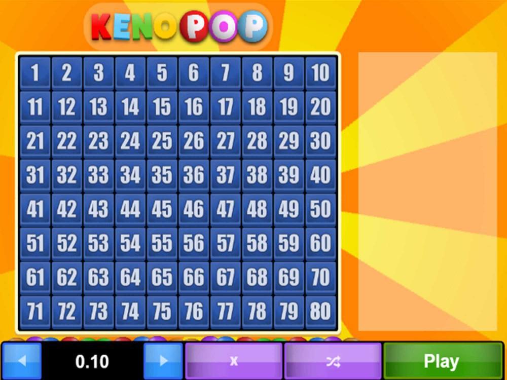 Keno Pop screenshot