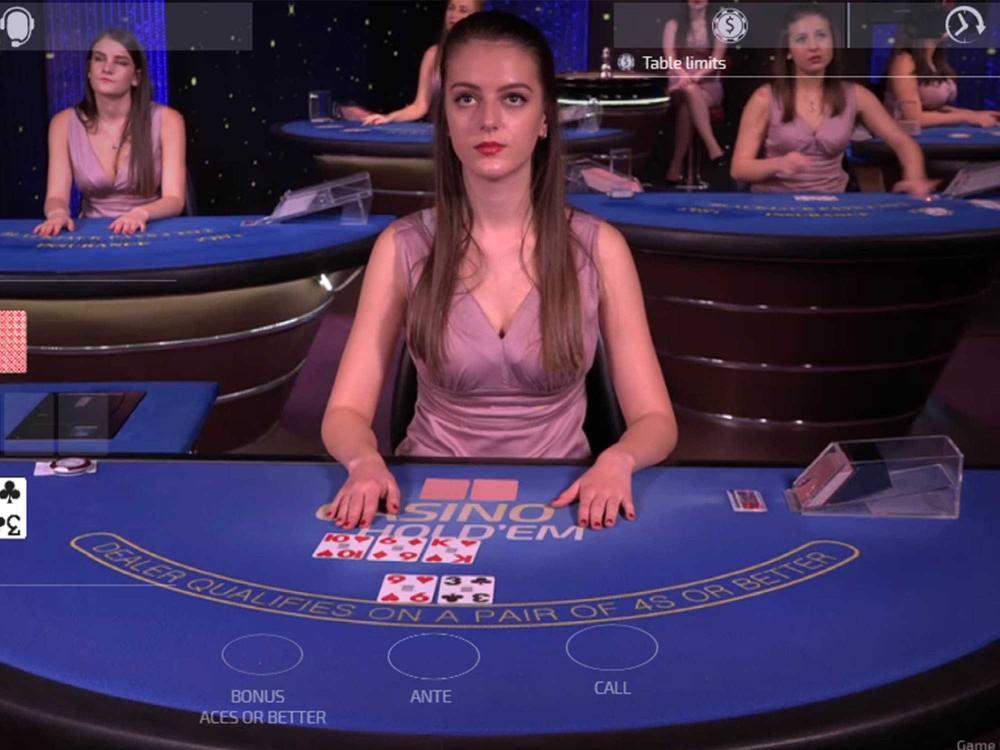 Texas Hold'em Bonus Poker screenshot