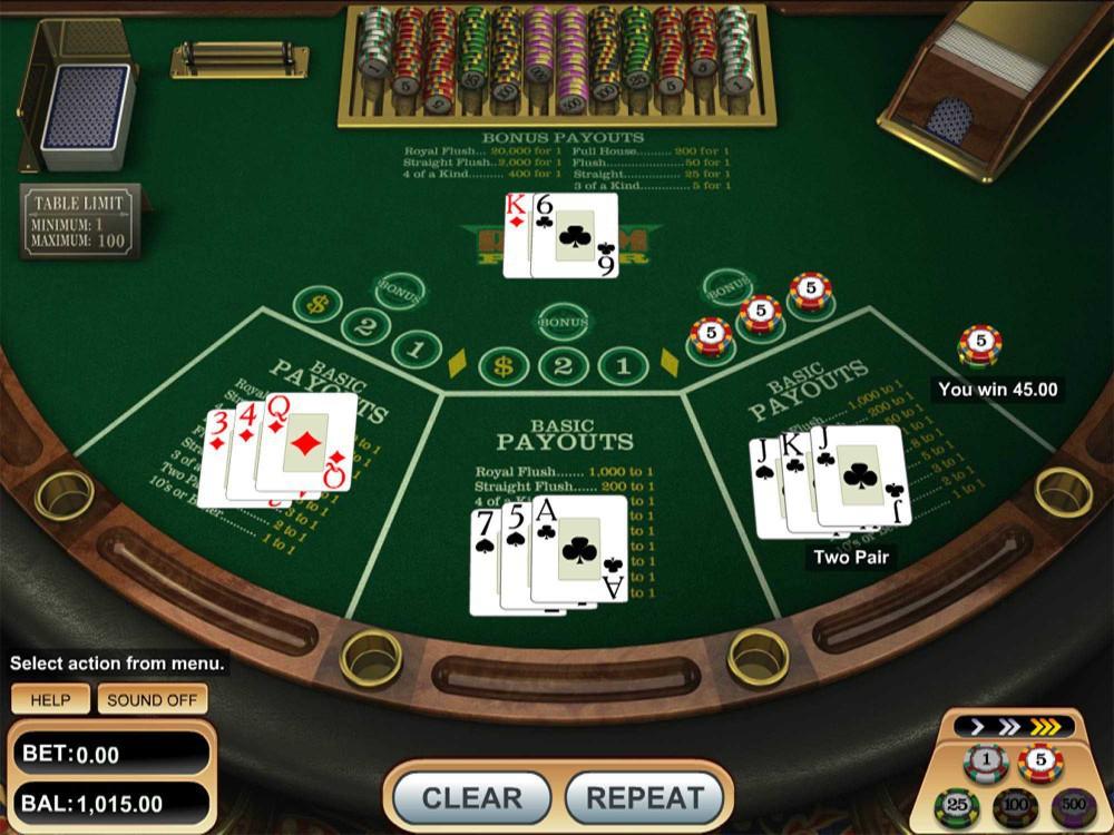Ridem Poker screenshot