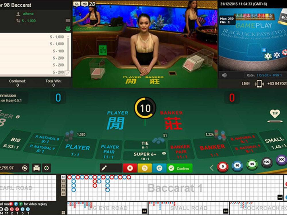 Super 98 Baccarat screenshot