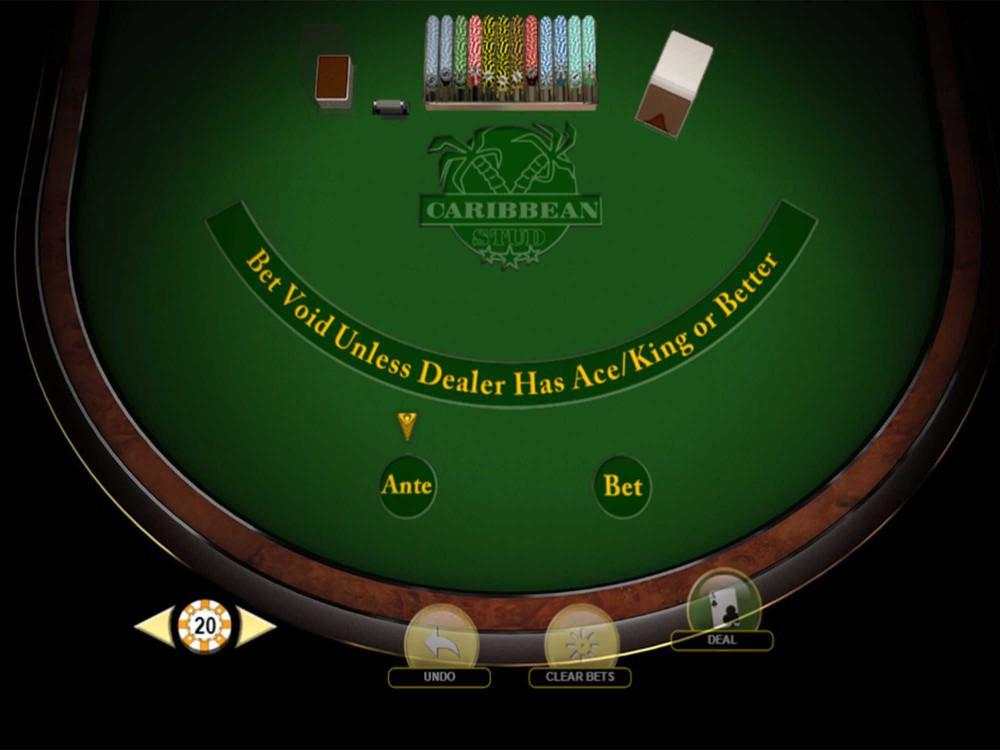 Carribean Stud Poker screenshot