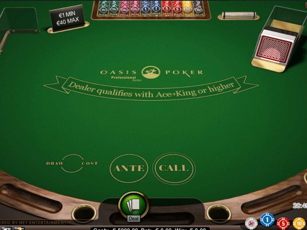 Oasis Poker Pro Series screenshot