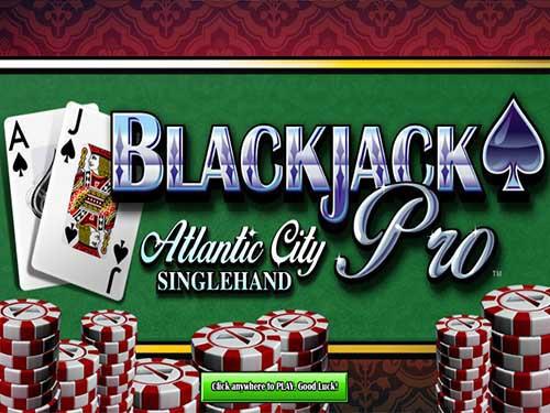 Blackjack Pro Atlantic City - Singlehand