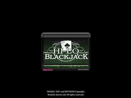 Hi lo Black Jack