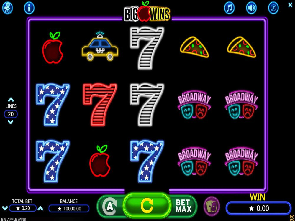 Big Apple Wins Slot screenshot