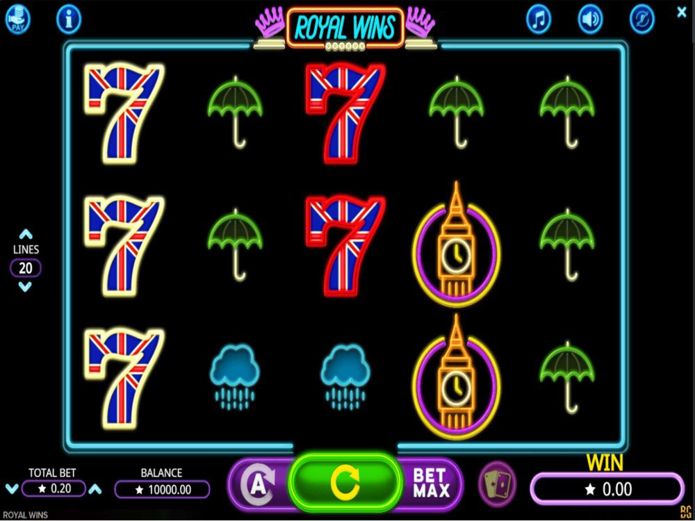 Royal Wins Slot screenshot