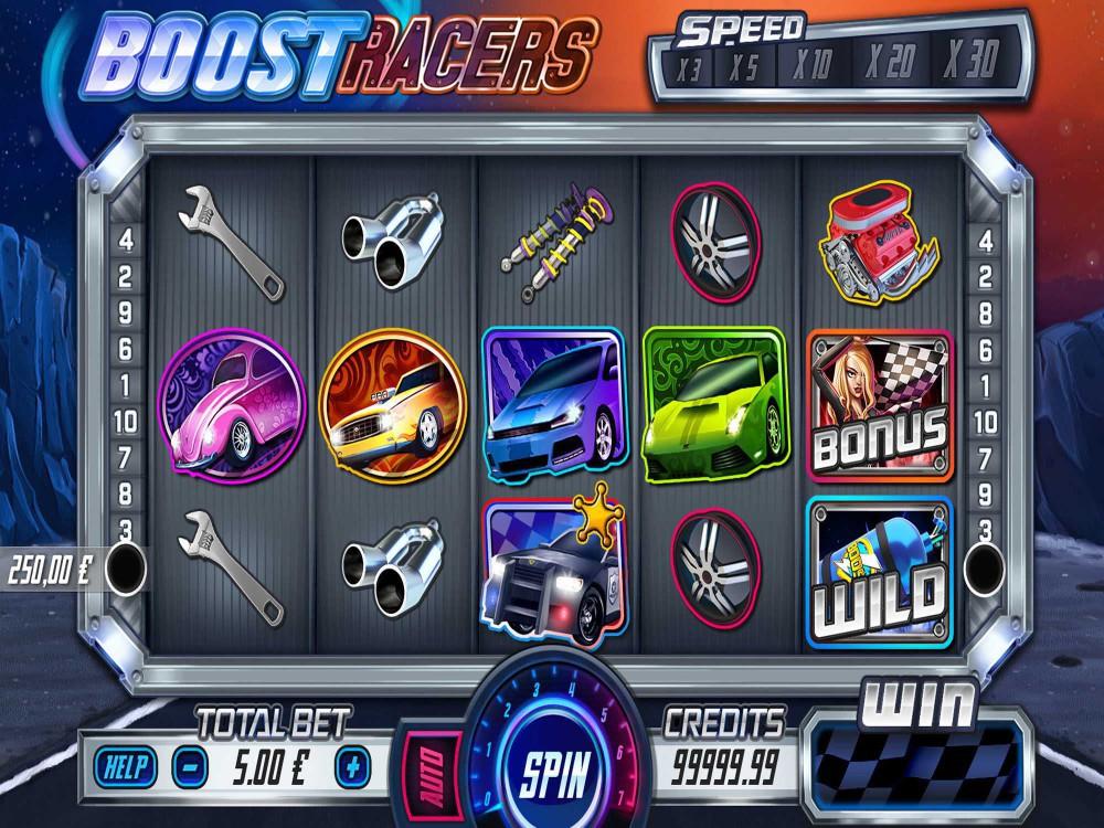 Boost Racers Slot screenshot