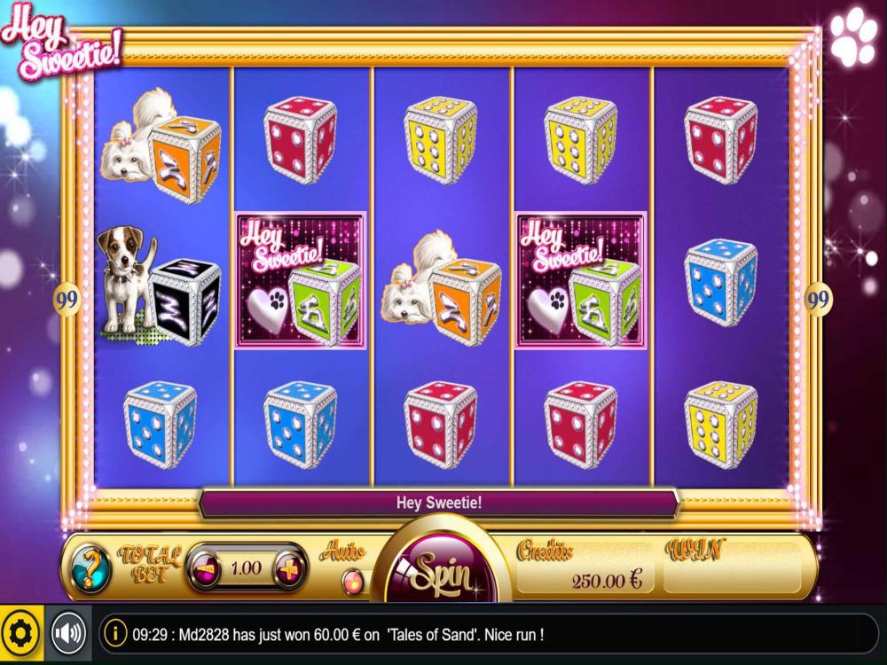 Hey Sweetie Slot screenshot