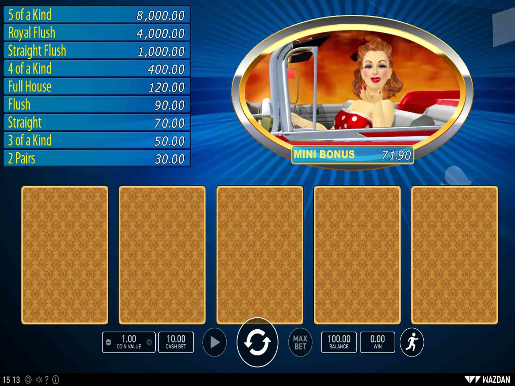 American Poker V screenshot