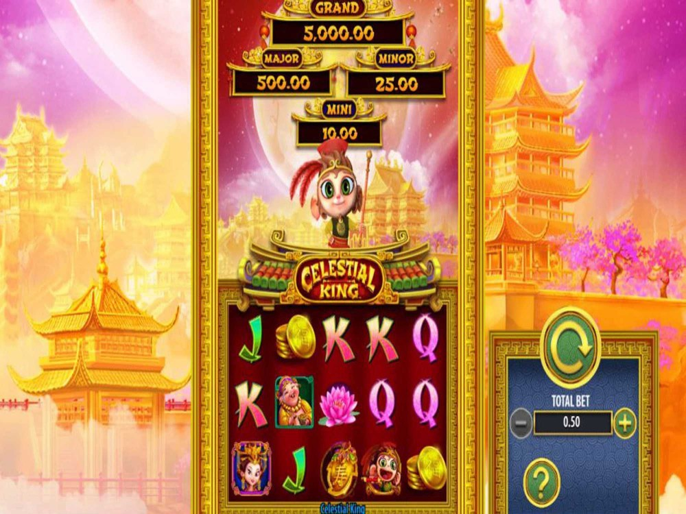 Celestial King is an innovative slot game that has something for every player.The game also features stunning graphics, an immersive theme that offers plenty of action, and amazing bonus features.Apart from the engaging bonus features, Celestial King is a favorite among players because of the jackpot opportunities it presents.3/5(1).Antalya