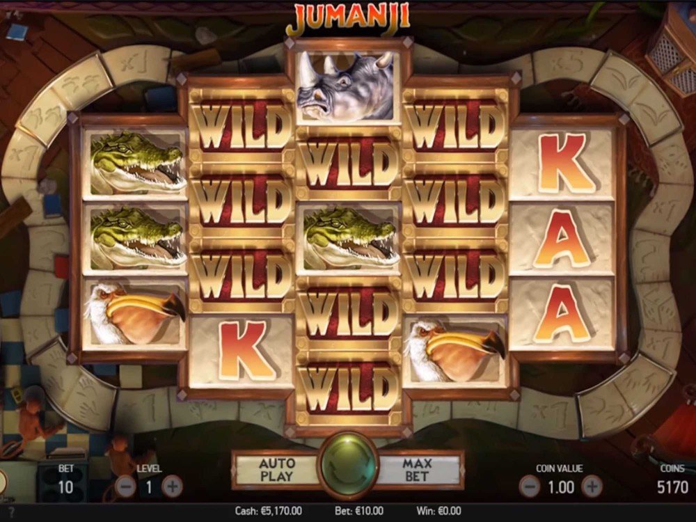 Jumanji Slot screenshot