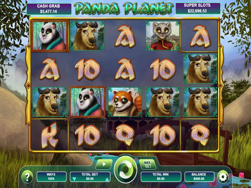 Panda Planet Slot Machine