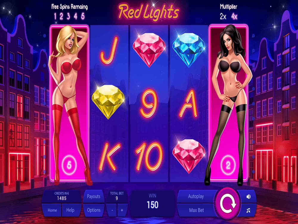 Red Lights Slot screenshot