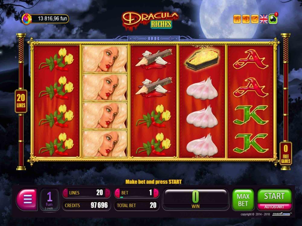 Dracula Riches Slot screenshot