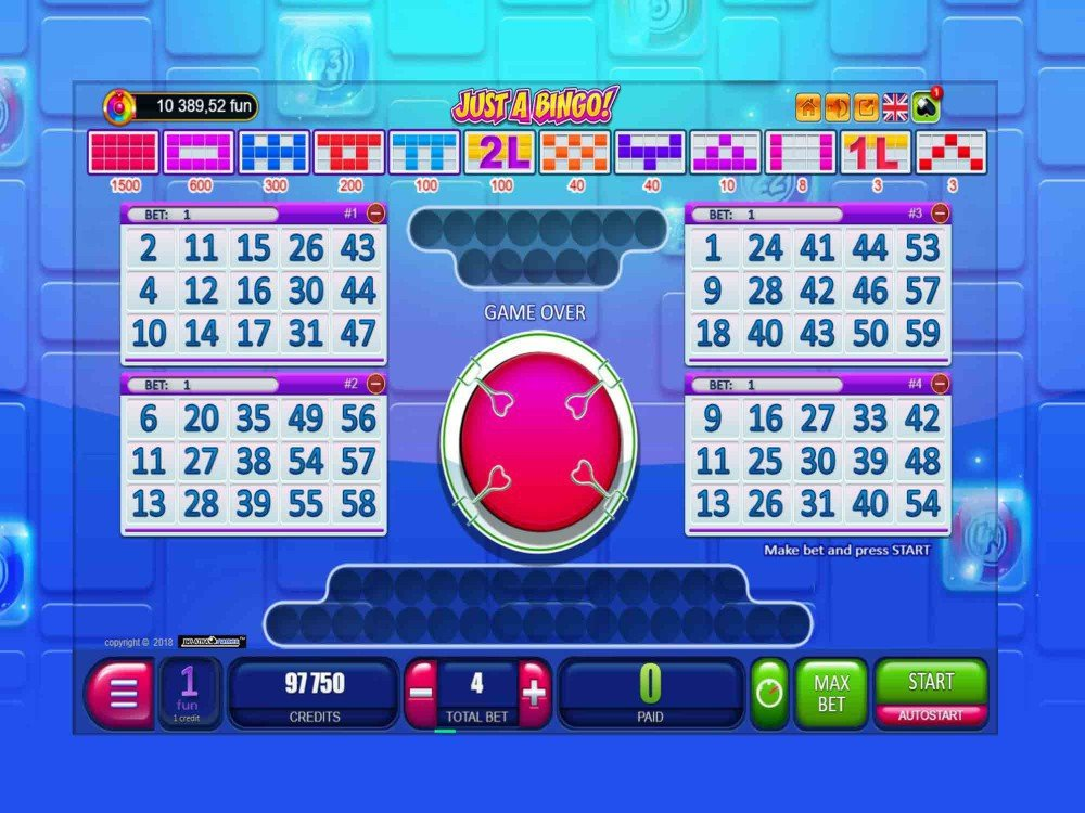 Just a Bingo - Bingo Games - GamblersPick