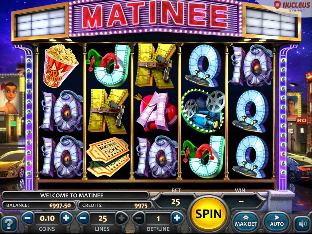 Matinee Slot screenshot