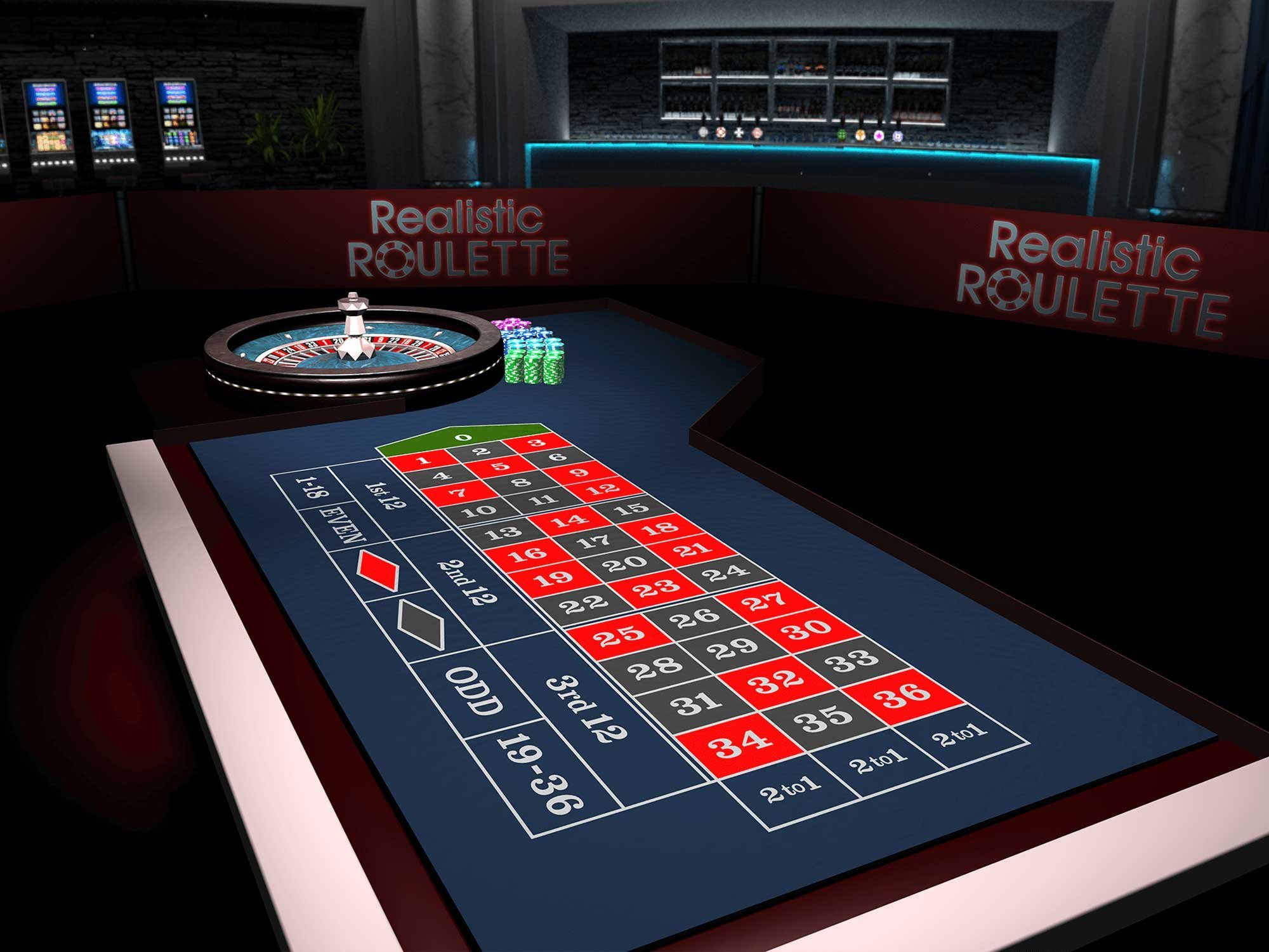 Realistic Roulette 3D by Realistic Games screenshot