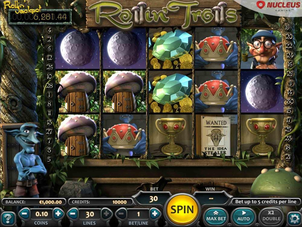 Rollin Trolls Slot screenshot