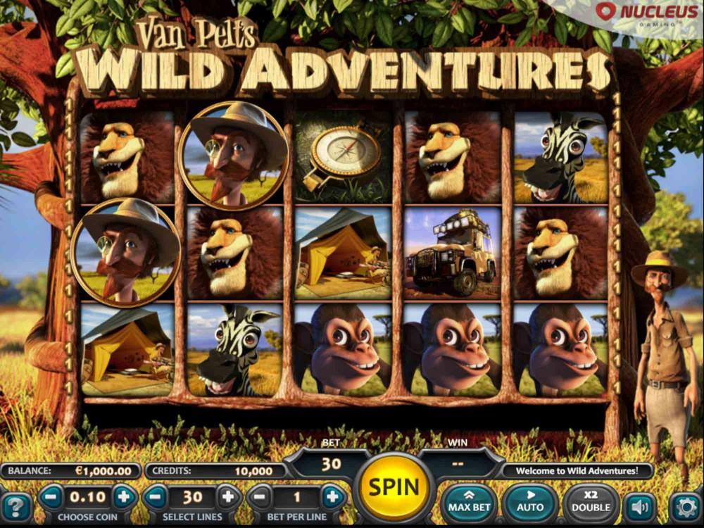Van Pelts Wild Adventures Slot screenshot