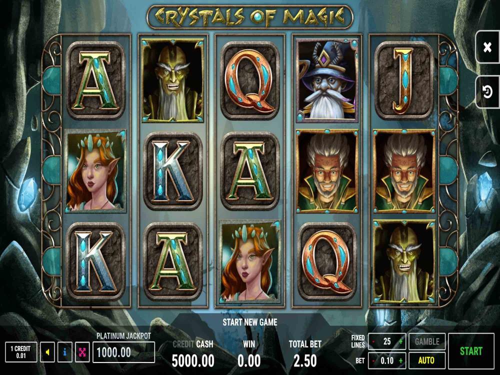 Crystals Of Magic Slot screenshot