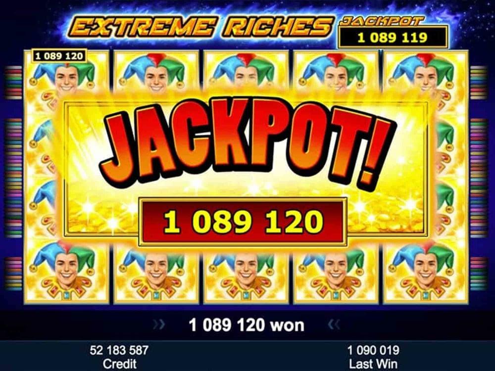 Extreme Riches Slot Slots Gamblerspick