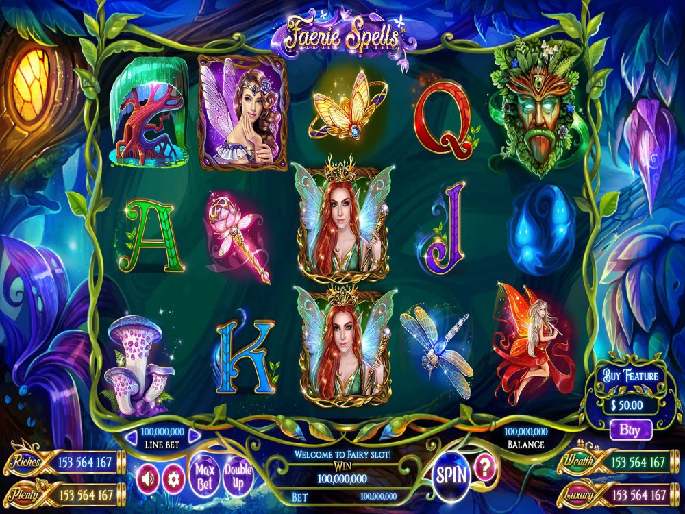 Faerie Spells Slot screenshot