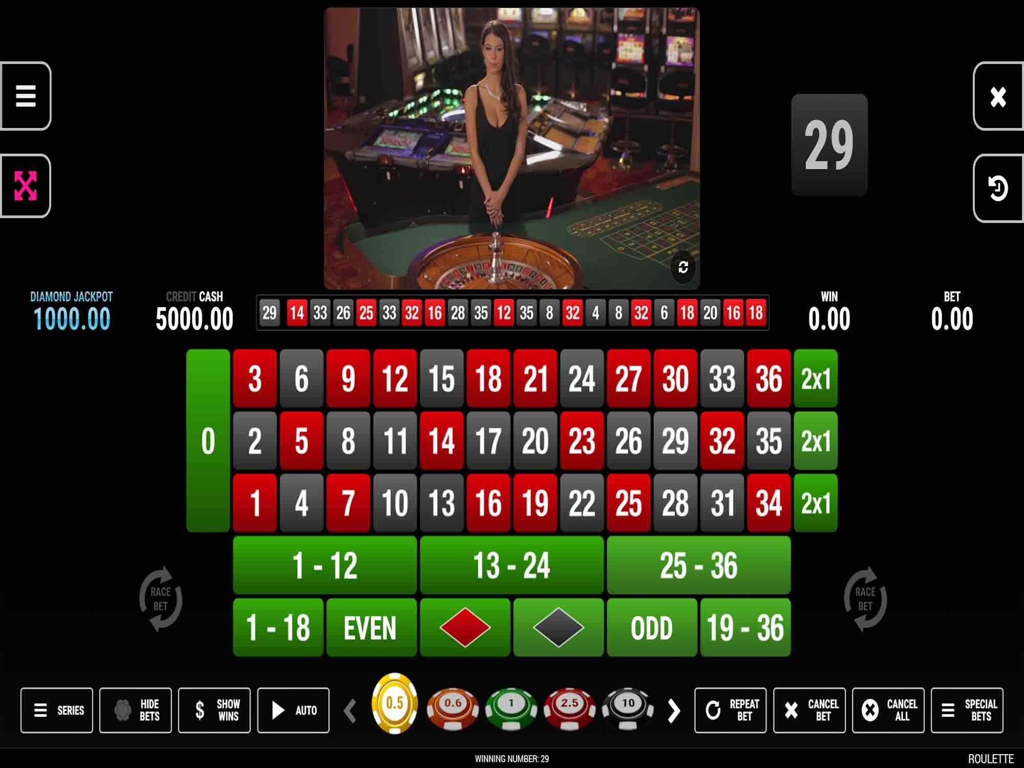 HD Roulette by Fazi screenshot