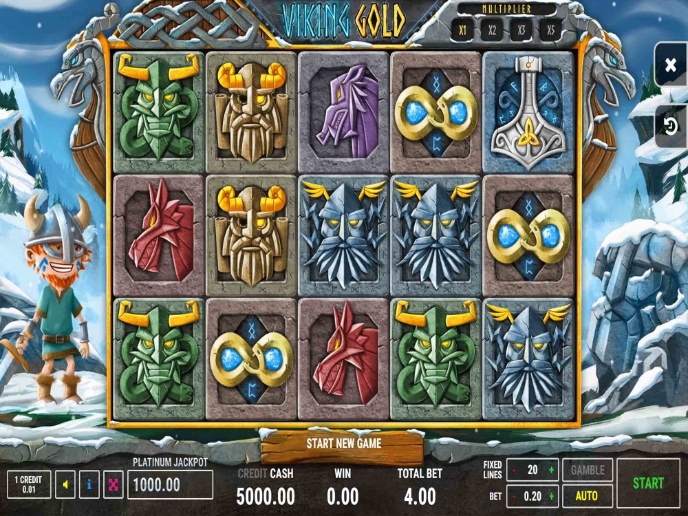 Viking Gold Slot screenshot