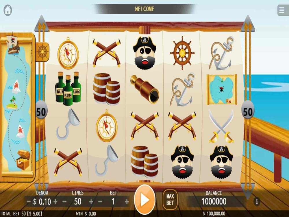 Golden Pirates Legends Slots Machines FREE - Spin the