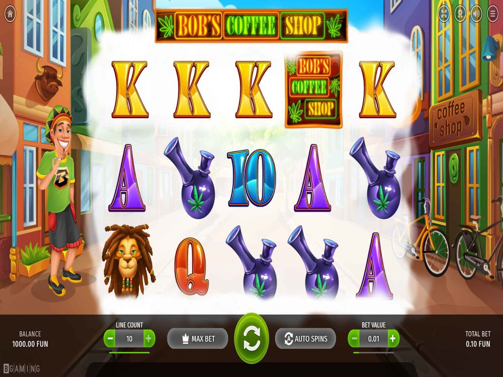 Bob Coffee Shop Slot screenshot