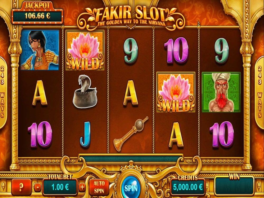 Fakir Slot screenshot