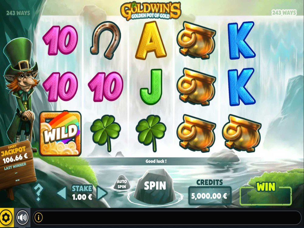 Goldwins Slot screenshot