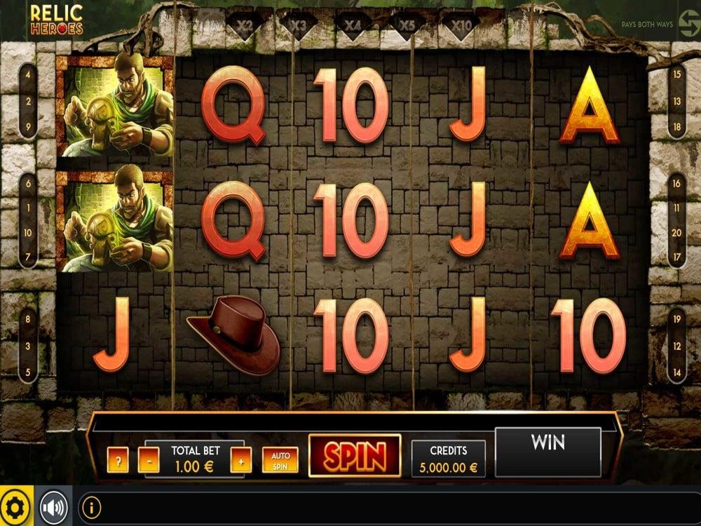 Relic Heroes Slot screenshot