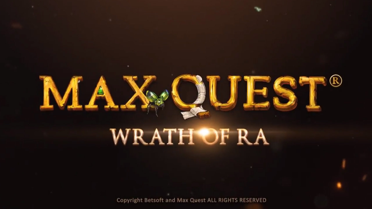 Defy Ancient Egyptian Gods and Claim Their Riches with Max Quest: Wrath of Ra by Betsoft