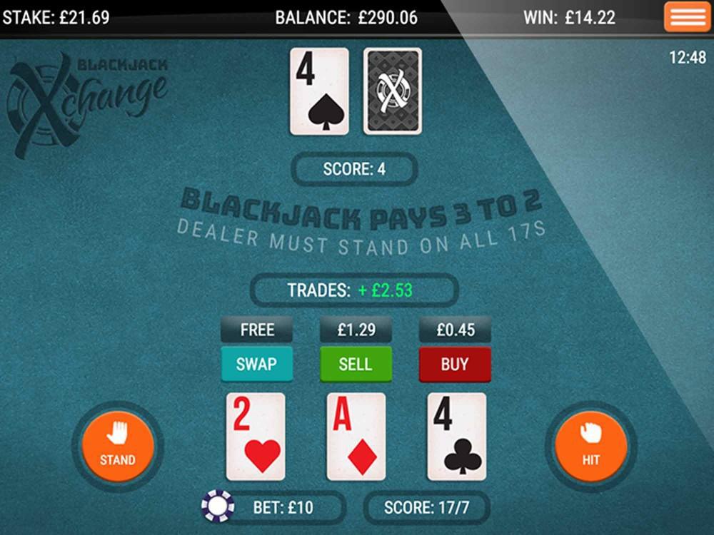 Blackjack X-Change screenshot