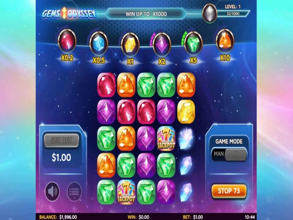 Gems Odyssey Slot screenshot