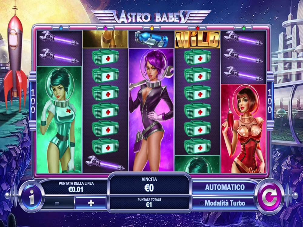 Astro Babes Slot - Slots - GamblersPick