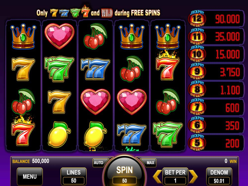 Slots Jackpot Inferno