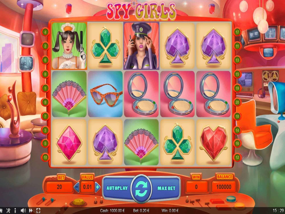 Spy Girls Slot screenshot