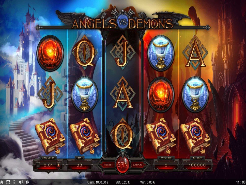 Angels vs Demons Slot screenshot