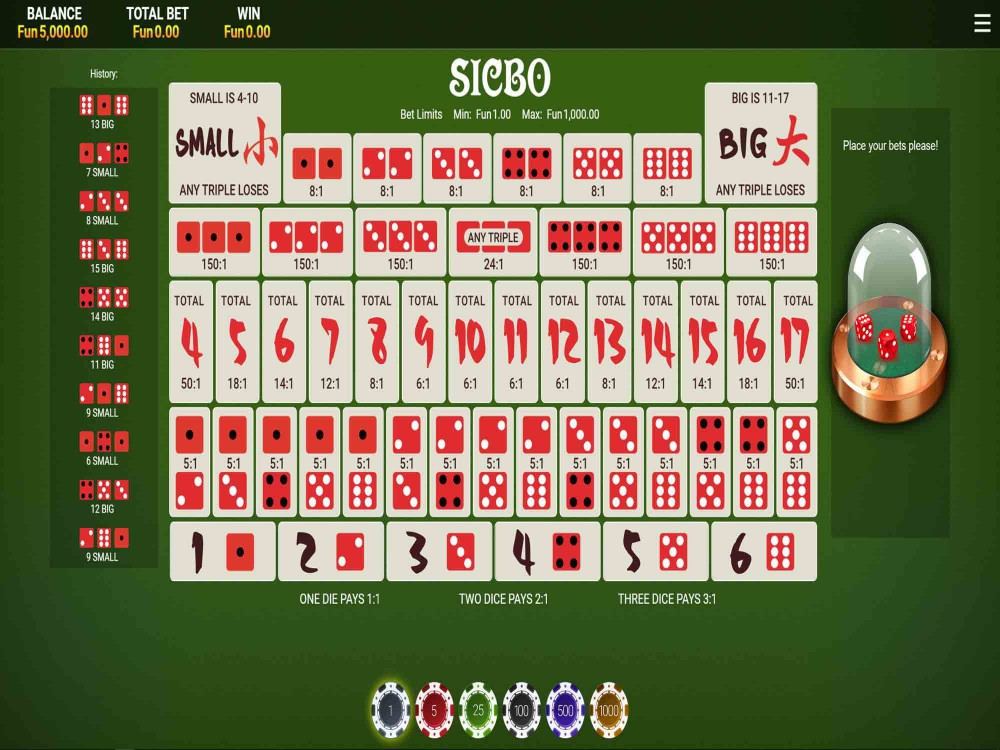 Sic Bo by OneTouch - Other Games - GamblersPick