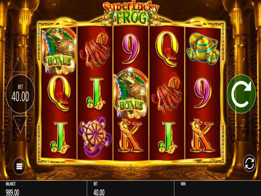 Super Lucky Frog Slots