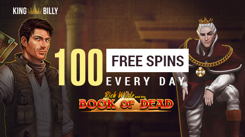 Play Like Royalty With 100 Free Spins At King Billy Casino Promotions Gamblerspick