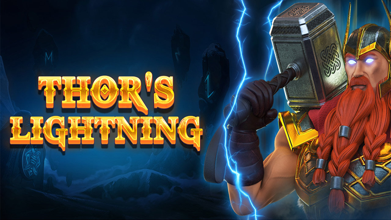 Shake the Skies with the New Thor's Lightning Slot by Red Tiger Gaming!